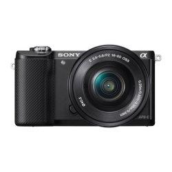 索尼(SONY) ILCE-5000L/α5000 微单单镜套机 黑色 (E PZ 16-50mm F3.5-5.6 OSS)